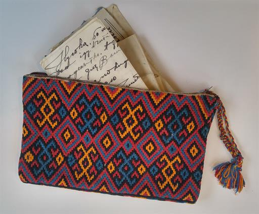 Fig. 100 Anna Zabolotna's Embroidered Purse